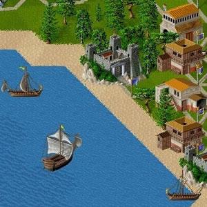 Siedler II und die Schiffe